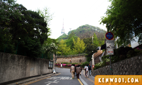 n seoul tower walk