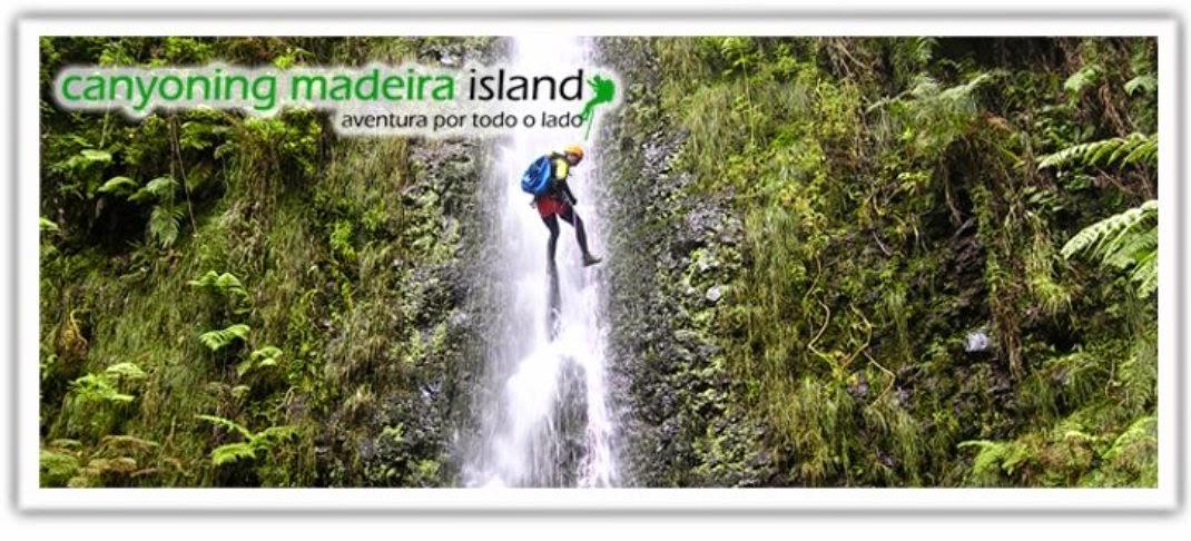 Canyoning na lha da Madeira