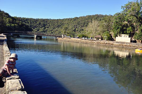Bobbin Head river