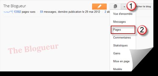 Ajouter des liens non statiques au gadget pagelist blogger for Code html lien nouvelle fenetre