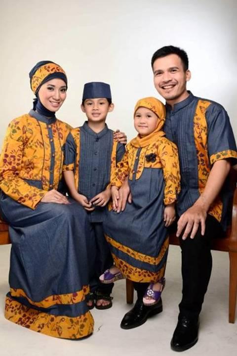 Berbagai Model Gamis Batik Sarimbit Keluarga Tas Cewek
