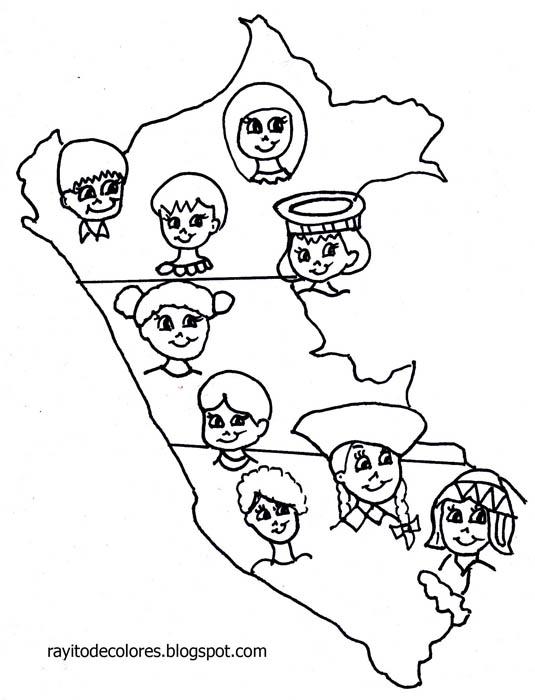 Costa, Sierra y Selva del Perú