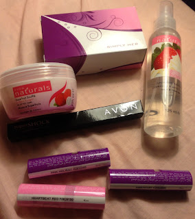 Avon Feb purchases 2013