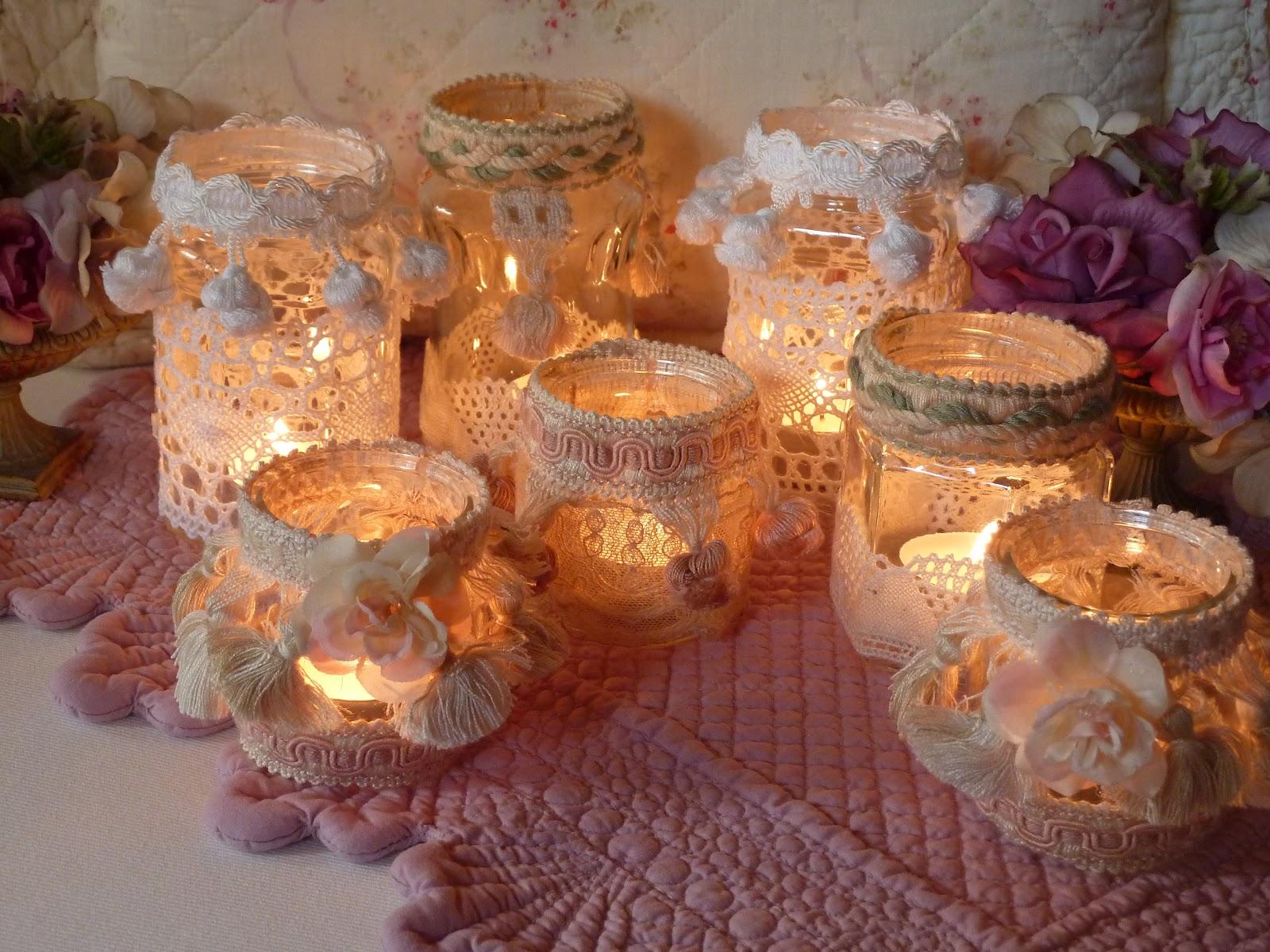 My romantic creations candele - Lanterne portacandele fai da te ...