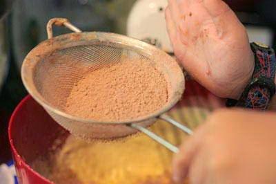 Cacao Cheese Cake (Bánh Phô Mai Cacao)