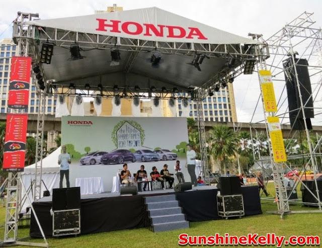 Honda Hybrid Discovery, Honda hybrid, honda jazz hybrid, Honda Hybrid Family Road Trip 2013, honda hybrid cars, car, amcorp padang timur, honda stage