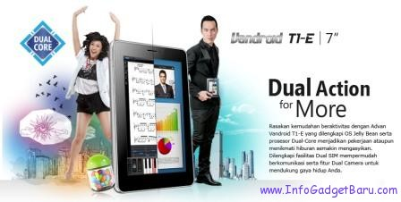 Tablet Advan Vandroid T1E