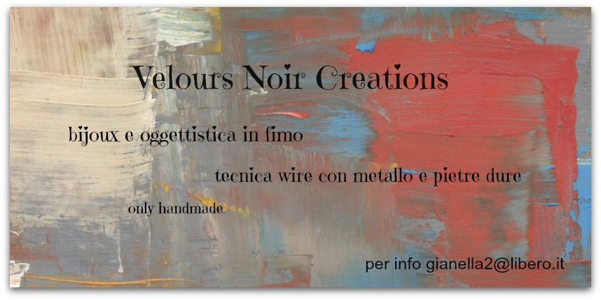 Velours Noir Creations Creazioni Handmade in Fimo