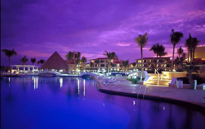 The Moon Palace Resort in Cancun, Mexico