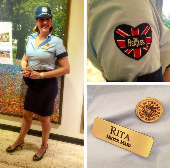 rita the meter maid doesnt she look lovely give us a wink and make me think of you - Halloween Stores Austin Texas