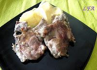 Chuletillas de cordero en salsa barbacoa