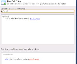 Sitecore Rule Set Editor