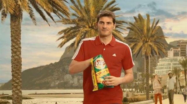 Iker Casillas en Brasil