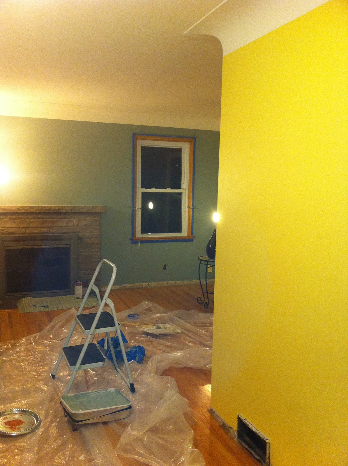 Life on Humboldt Ave.: The Living Room Project Continues...