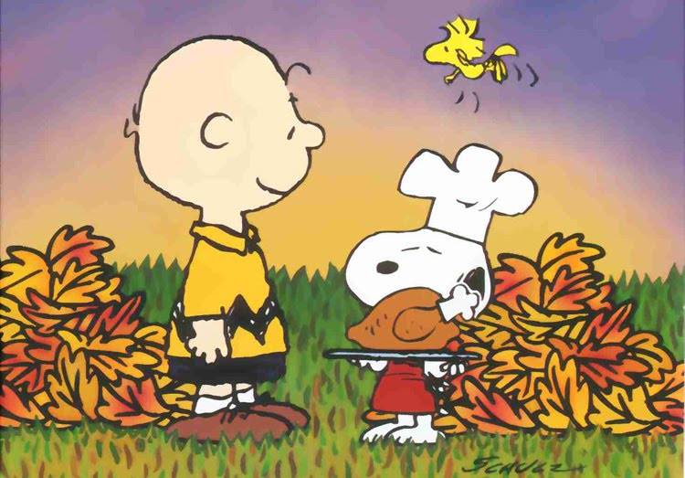 Charlie Brown Thanksgiving Desktop Wallpaper