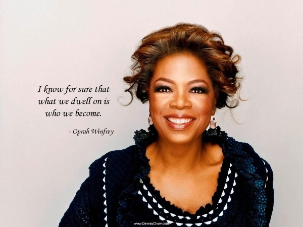 I want to write a letter to oprah winfrey