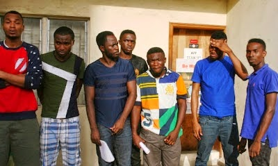 7 Nigerian-varsity students arrested for internet scam