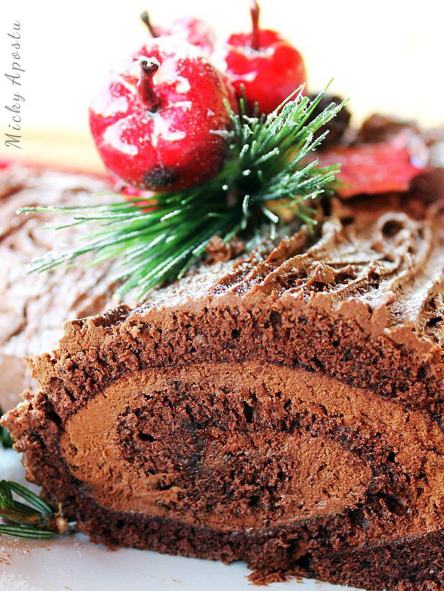 Bûche de Noël (tort buturuga)