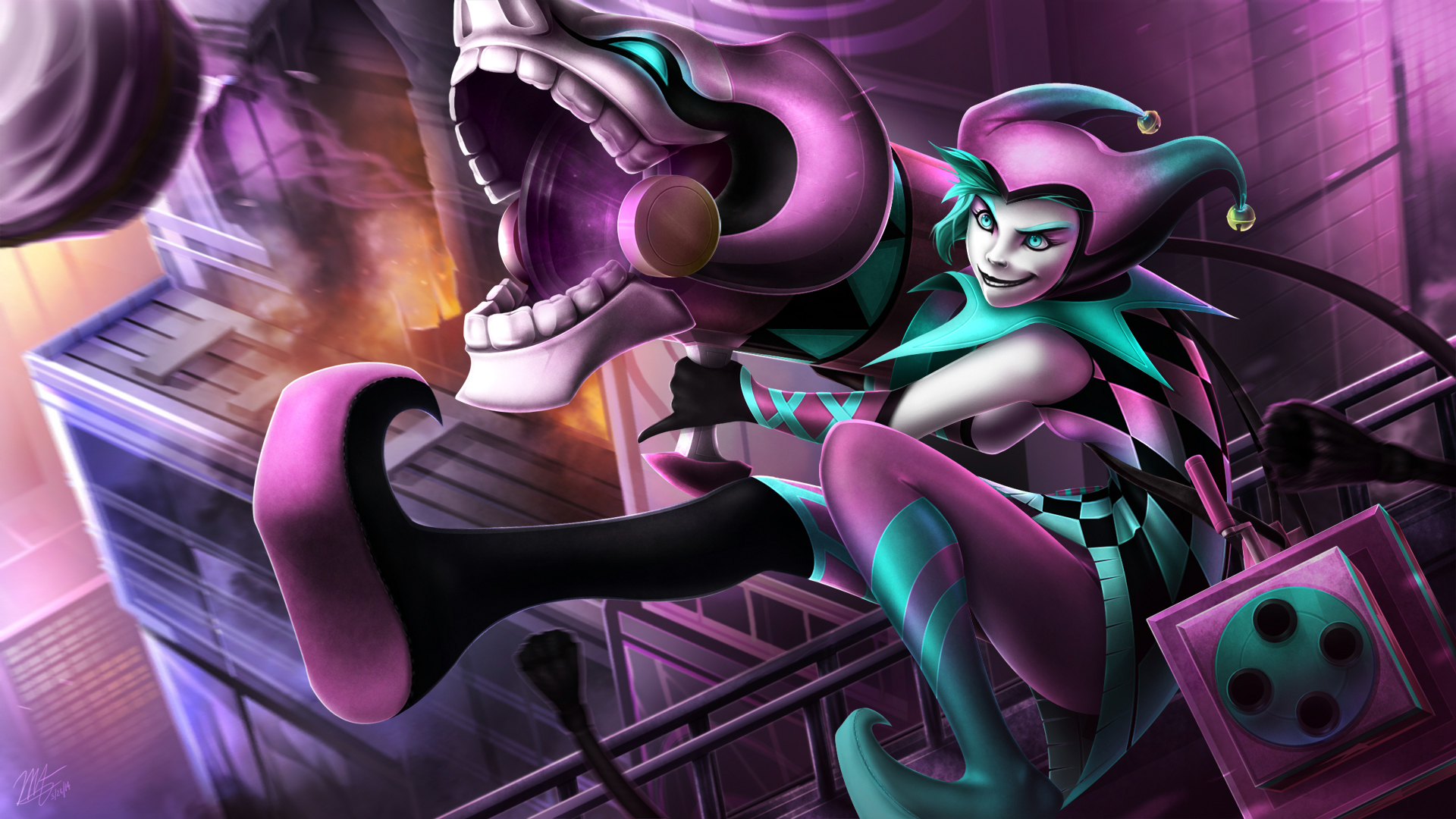 Jinx Wallpaper Hd