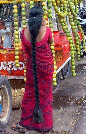 Malayali girl with long hair - Kuruvady