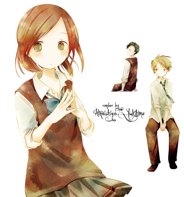 Render Isshuukan Friends - Cover Manga