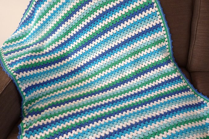 Studio 92 Designs Granny Stripe Deken