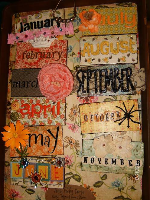 """Leslie"" calendar months"