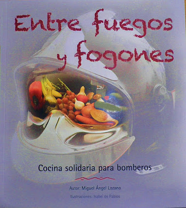 " Quieres tener el libro de:        "" Cocina solidaria        para bomberos""?"