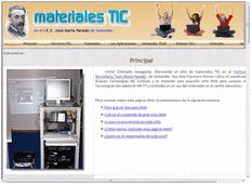 Web de Materiales TIC