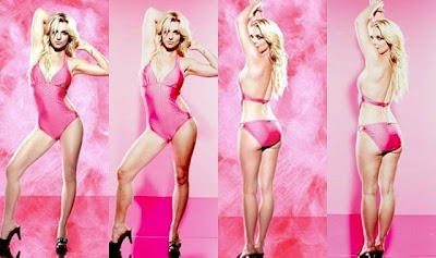 Britney Spears tanpa photoshop