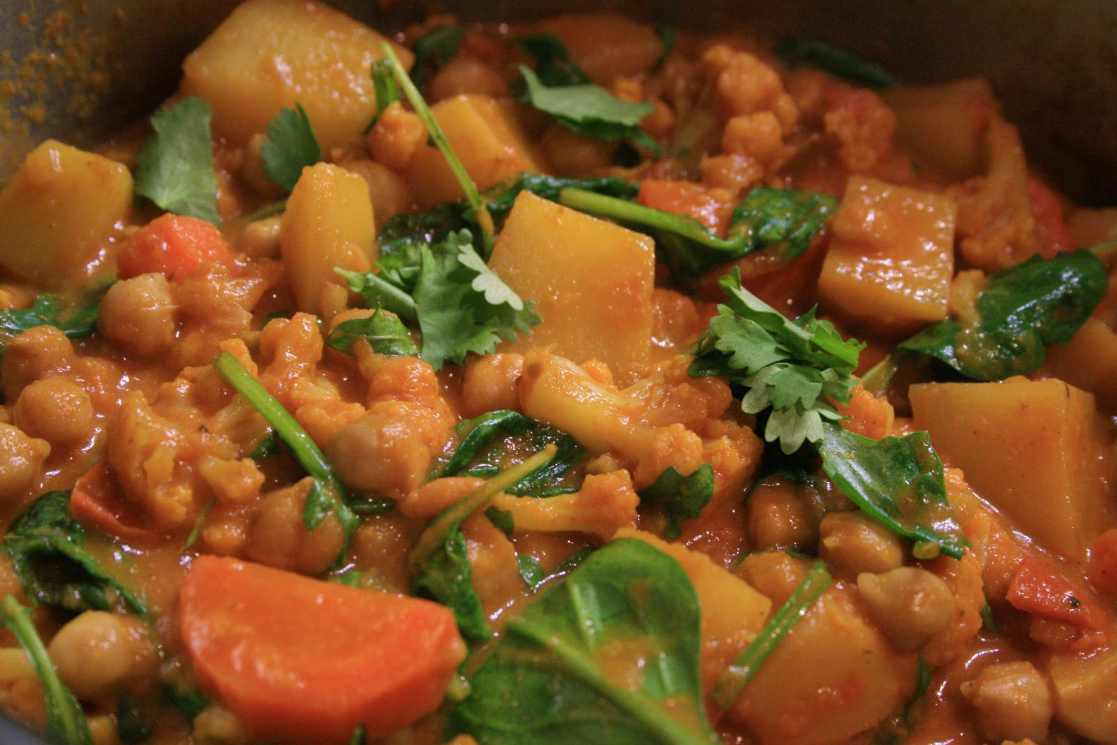 The Stimpson Soup Kitchen: South Indian-Style Vegetable Curry