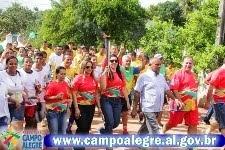 CHAMA DA INTEGRAÇÃO - 54 ANOS DE EMANCIPAÇÃO POLÍTICA DE CAMPO ALEGRE