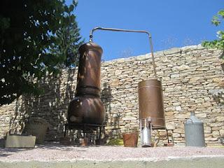 Distilling lavender in Haute Provence