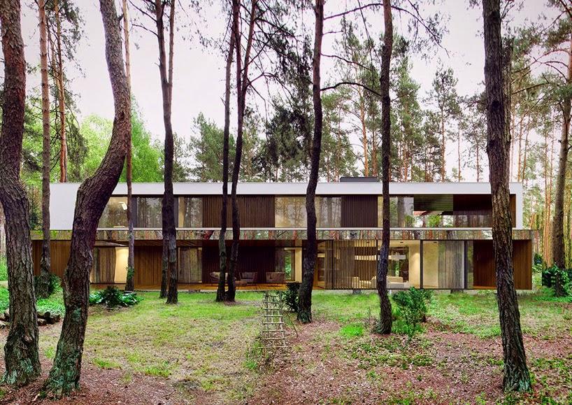 Arquitectura y Naturaleza, Casa entre Arboles