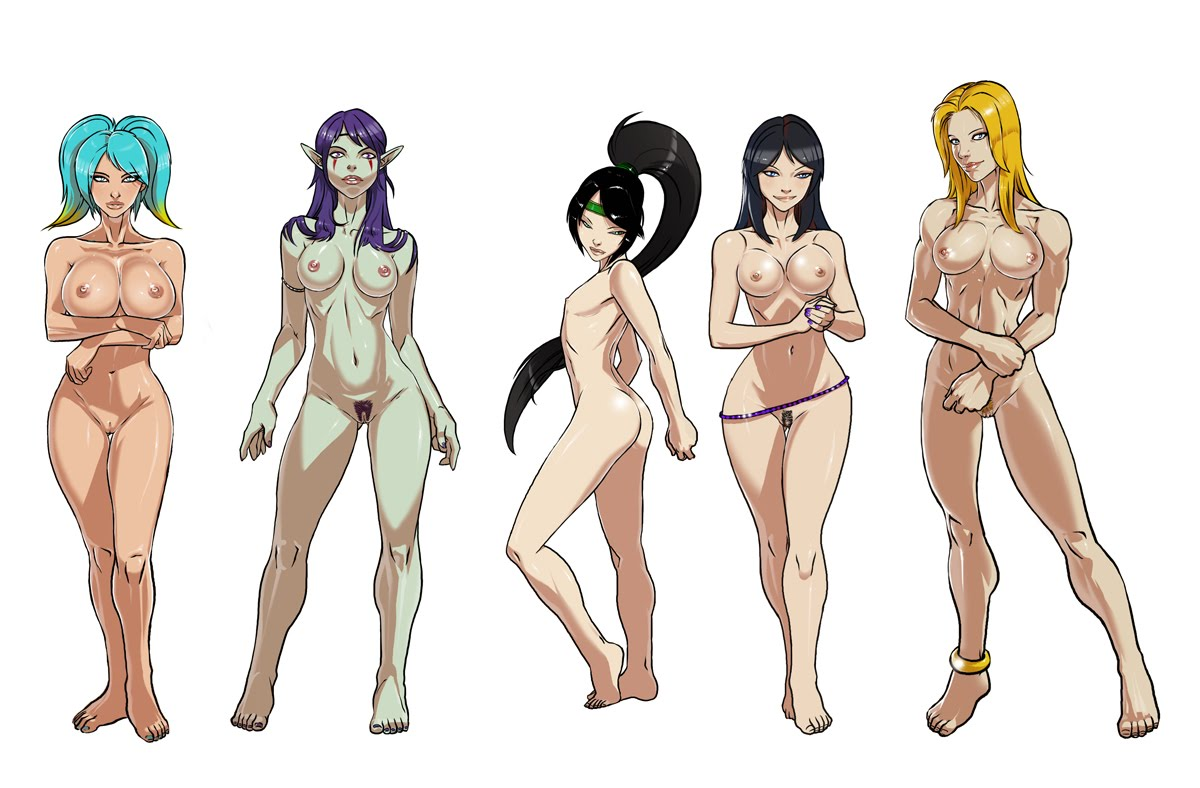 league of legends naked