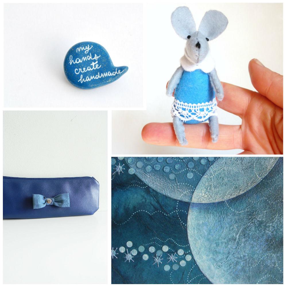 blue, handmade, italy, etsy, etsyitaliateam,
