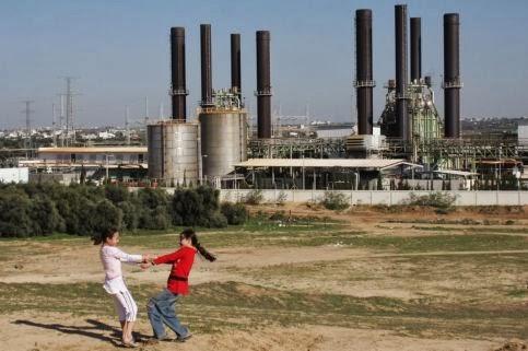 Anak Palestina sambut gembira penemuan ladang gas - Worldbulletin