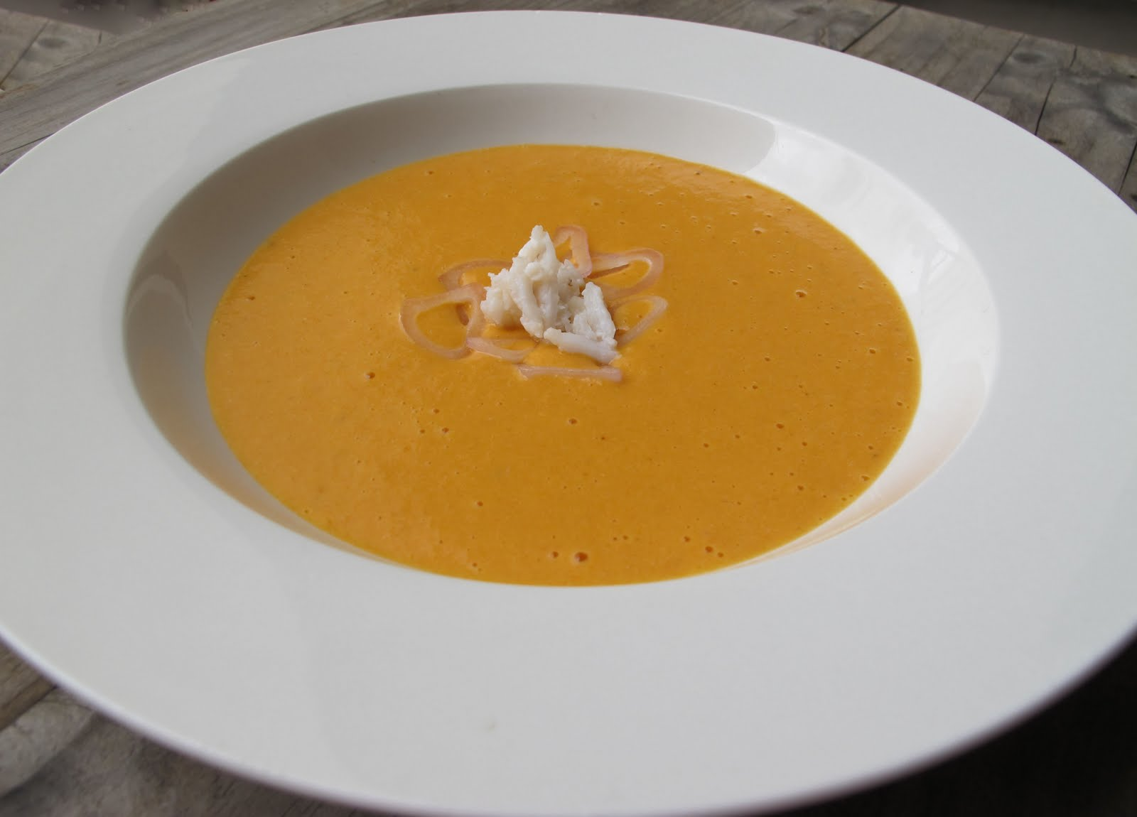 Morsels and Musings: blue swimmer crab bisque