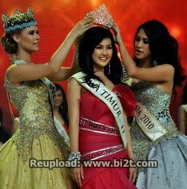Foto Pemenang Miss Indonesia 2011