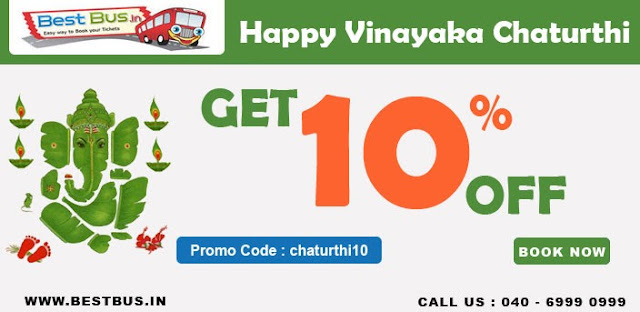 Flat 10% discount on bus tickets