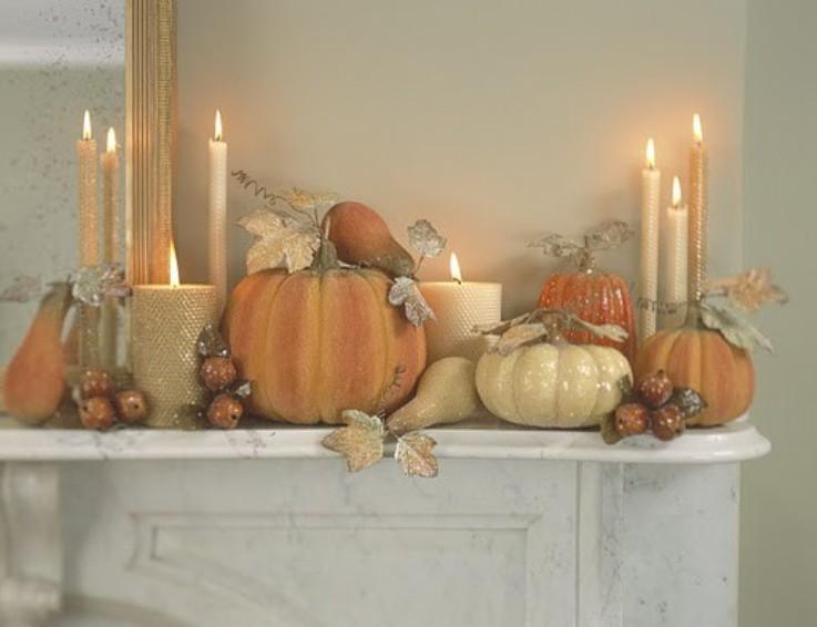 Ciao newport beach autumn dinner party ideas decor - Elegant fall decorating ideas ...
