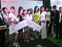 The winners of the contest