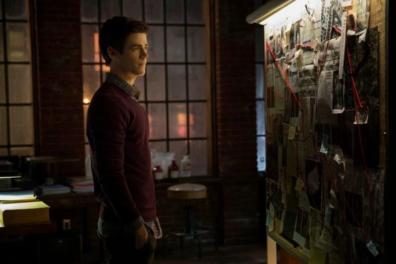 Grant Gustin como Barry Allen