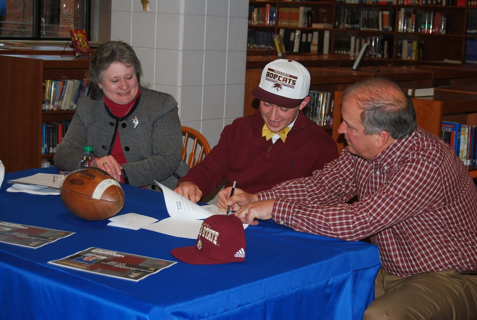 Montgomery Catholic's Sherman Signs National Letter of Intent 1