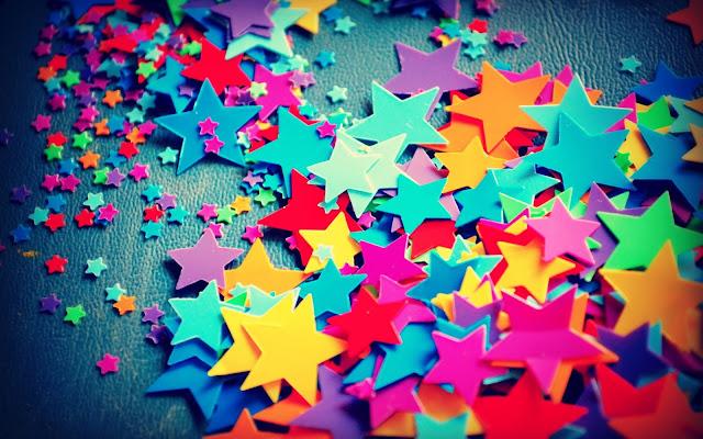 Estrellas de Colores Fondos de Pantalla HD