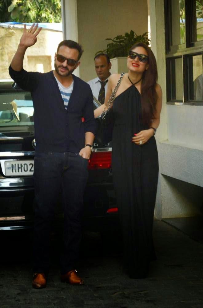 Kareena Kapoor Hot Wallpapers In Black Gown
