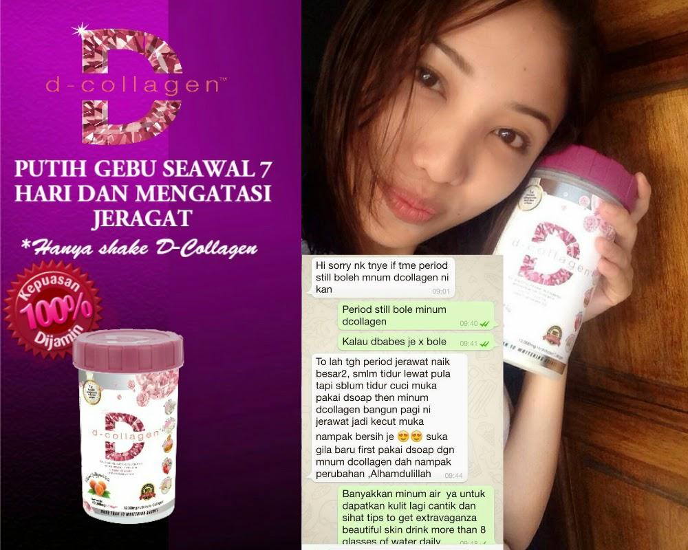 Testimoni Dara Collagen Testimoni Pengguna D-collagen