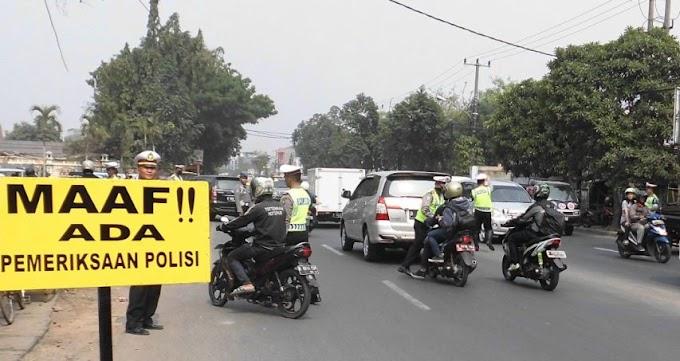 Satlantas Polres Metro Tangerang Jaring 2.589 Kendaraan