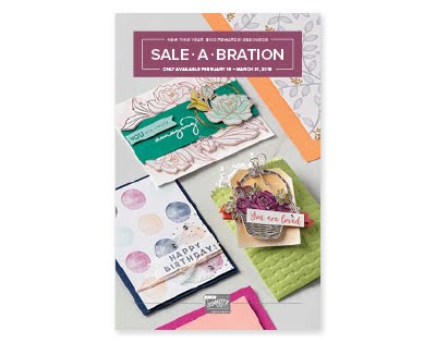 NEW SALE-A-BRATION ITEMS 2018