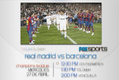FOX Sports | Uefa Champions League, semifinal ida